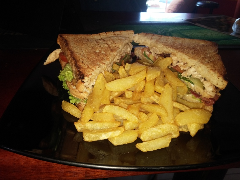 Best club sandwich in Kampala