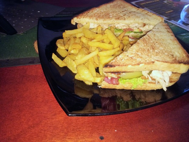 club sandwich, just kicking, Kampala