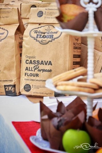 Wind wood cassava flour, the great kampala cook off