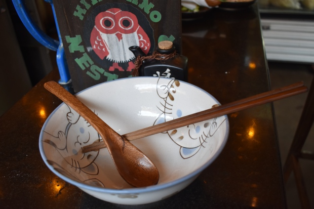 wooden spoon, chop sticks