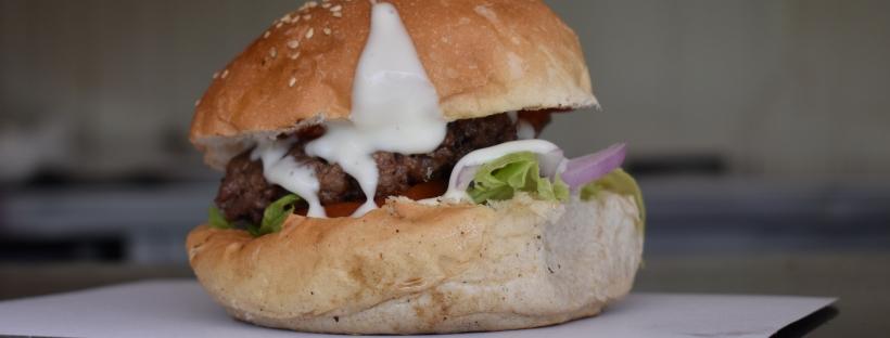 The Munch truck burger