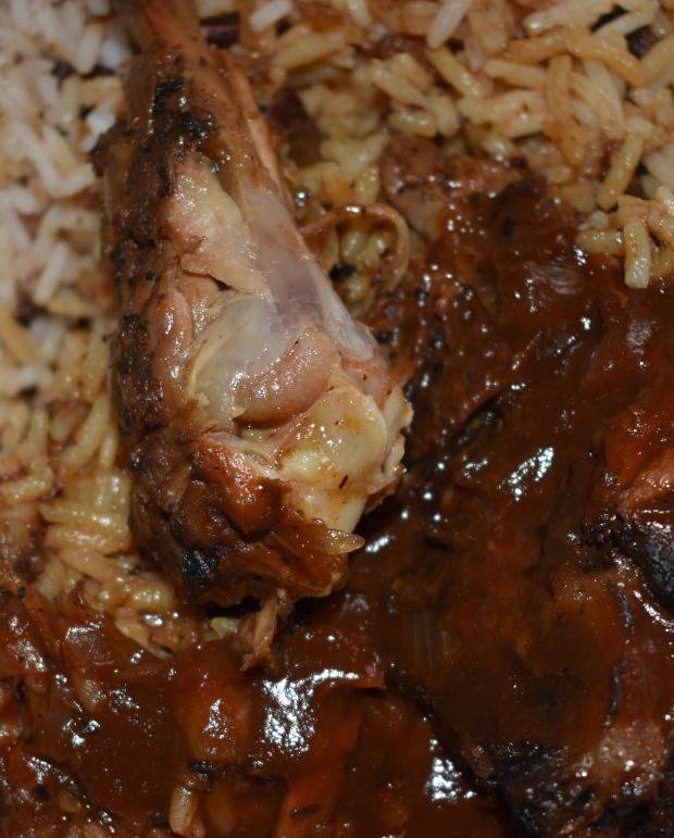 Jerk chicken, Uganda Kampala