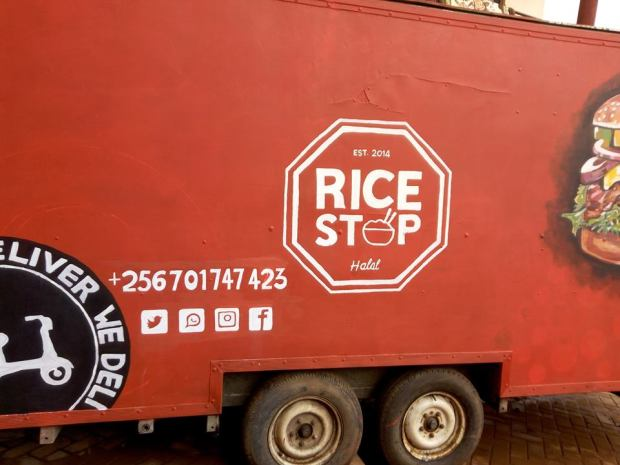 the rice stop food truck Ggaba