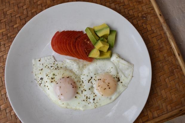 fried egg, sunny side up