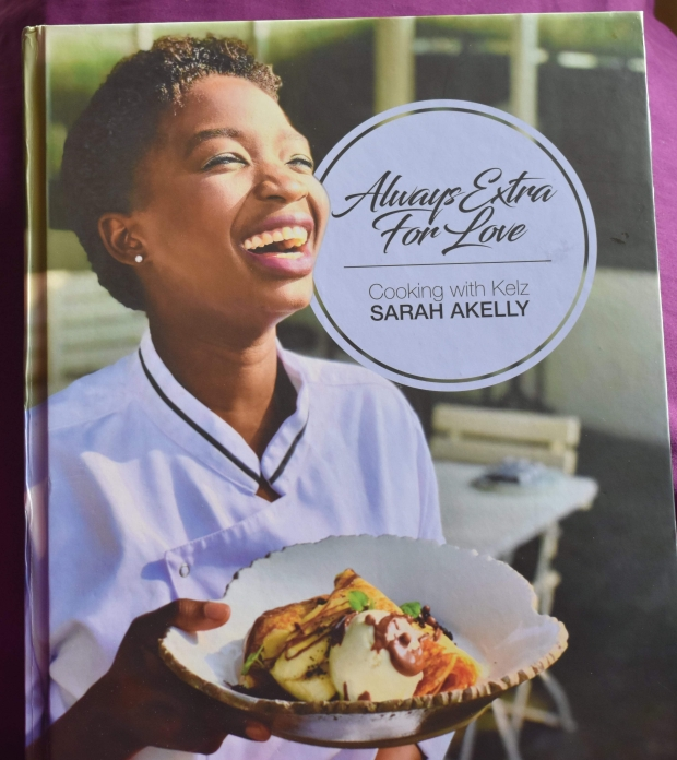 cook book cover, always extra for love cook book, Sarah Akelly, Ugandan cookbook