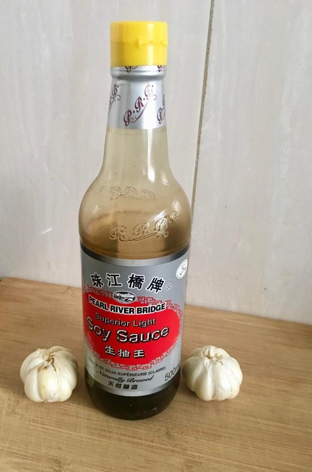 soy sauce, dark